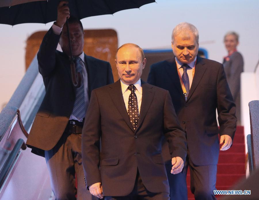 Hình ảnh đầu tiên của Tổng thống Putin trong chuyến thăm Trung Quốc 6