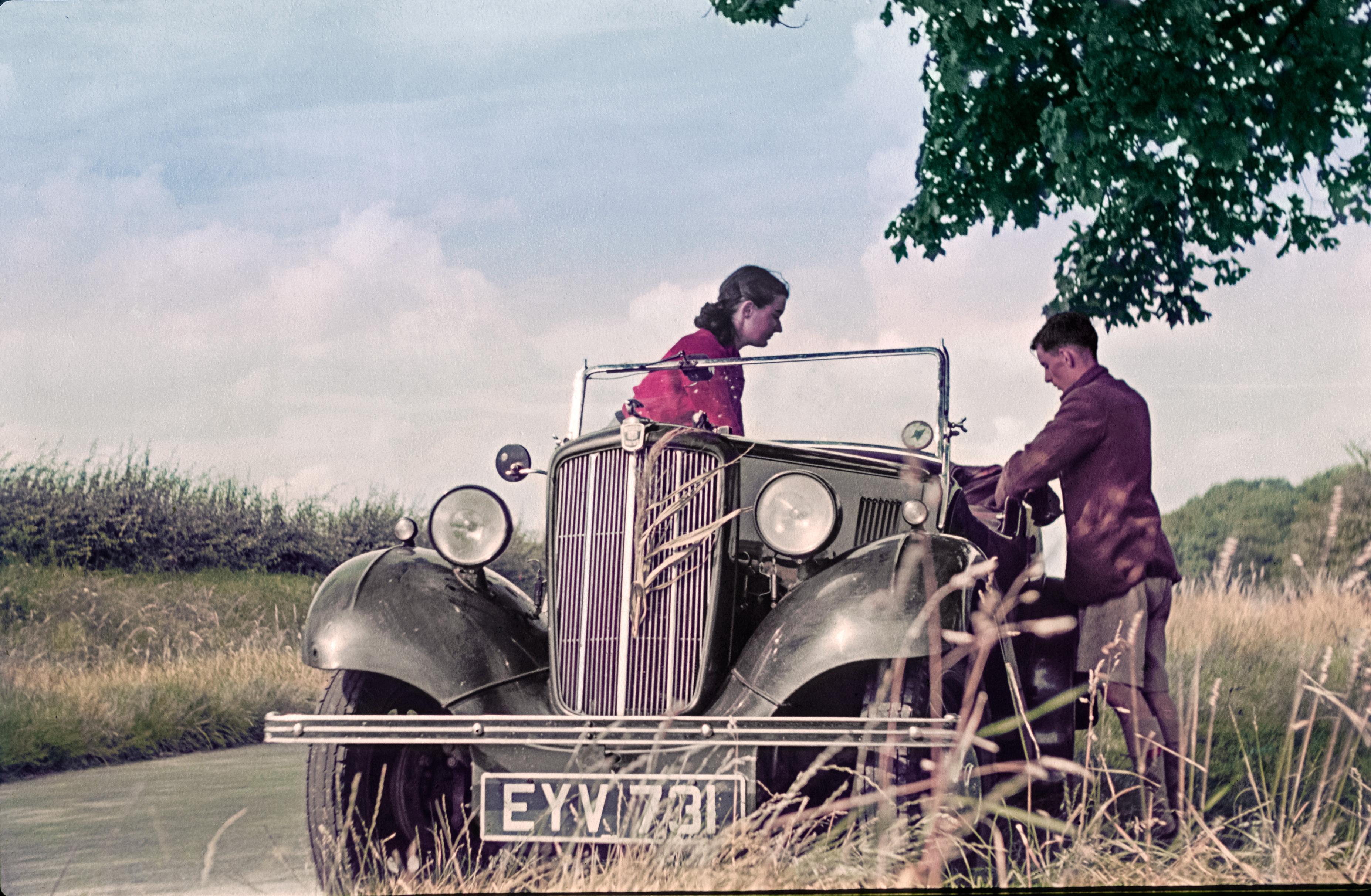 Trọn bộ ảnh quý về kỳ nghỉ trăng mật trước chiến tranh thế giới thứ 2 4