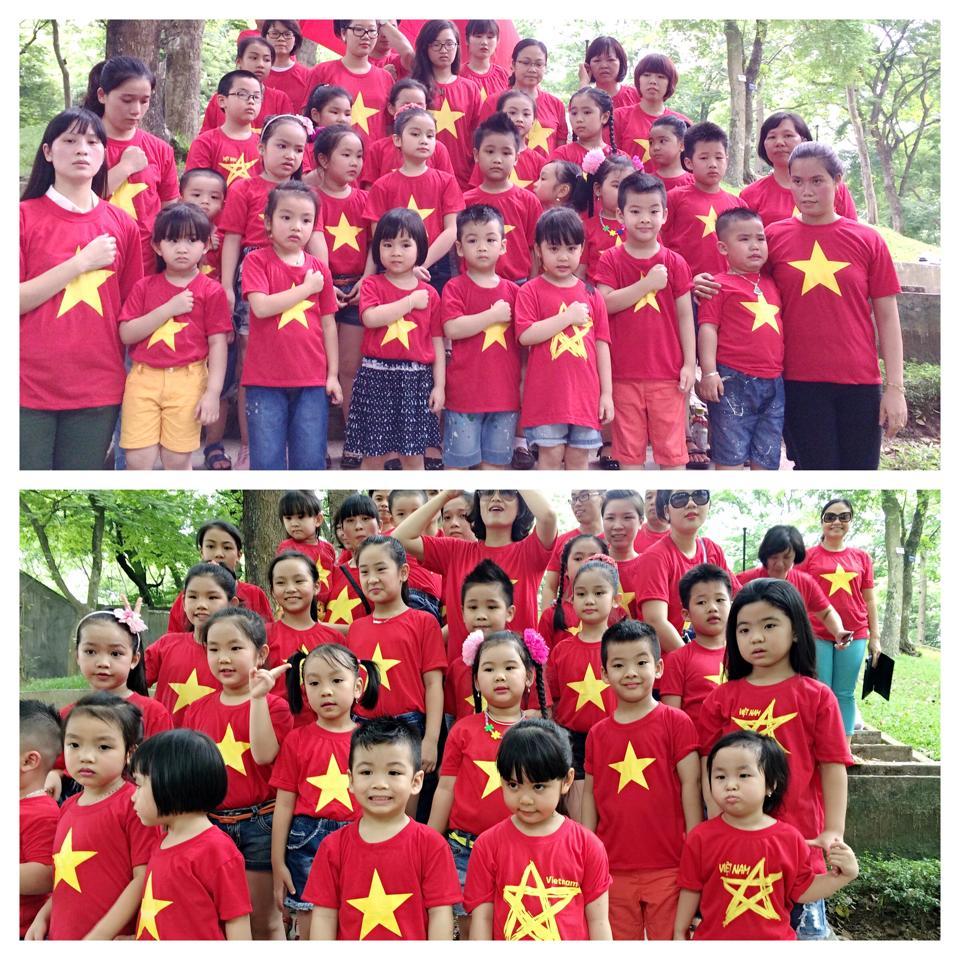 Sao Việt cháy rực trong sắc cờ đỏ sao vàng hướng về biển Đông 11