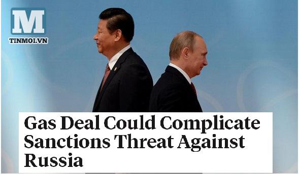 Hợp đồng khí đốt lịch sử làm rối loạn các biện pháp trừng phạt Nga 4