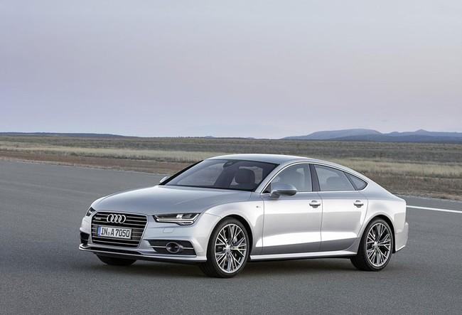 Đèn pha ma trận được trang bị cho Audi A7 và S7  5