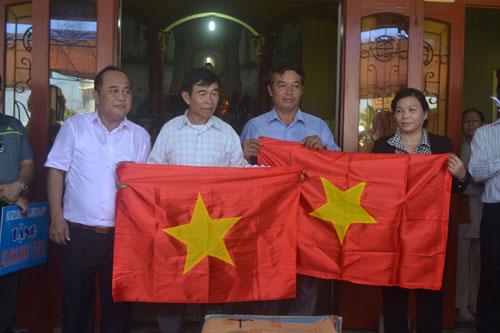 Đại lễ cầu siêu cho các anh hùng liệt sĩ và binh phu Hoàng Sa 8