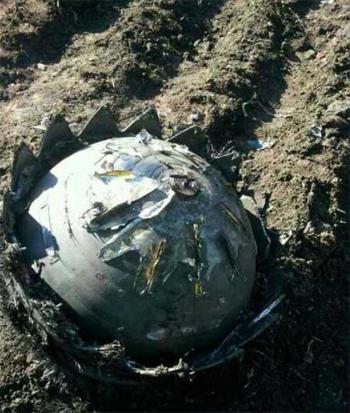 """Cận cảnh """"quả cầu lửa"""" khổng lồ rơi xuống Trung Quốc 6"""