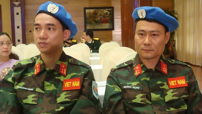 Tháng 6, Việt Nam bắt đầu tham gia lực lượng gìn giữ hòa bình quốc tế 7