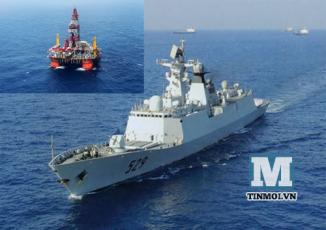 Tình hình biển Đông ngày 28/5: Tàu Trung Quốc tiếp tục dùng vòi rồng tấn công tàu Kiểm ngư Việt Nam 5