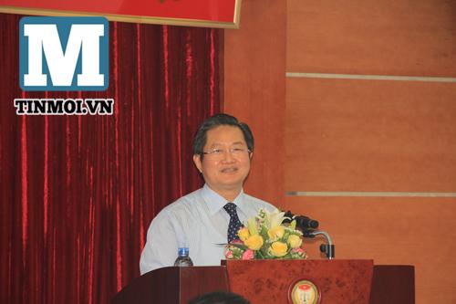 Chùm ảnh Phó Thủ tướng Nguyễn Xuân Phúc làm việc với Hội Luật gia 6