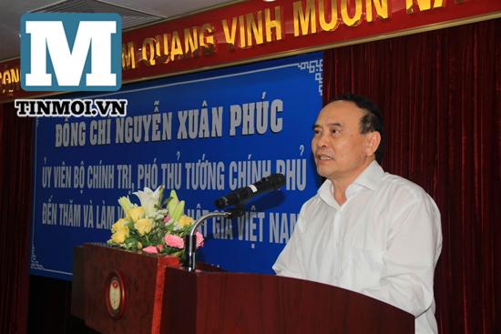 Chùm ảnh Phó Thủ tướng Nguyễn Xuân Phúc làm việc với Hội Luật gia 10