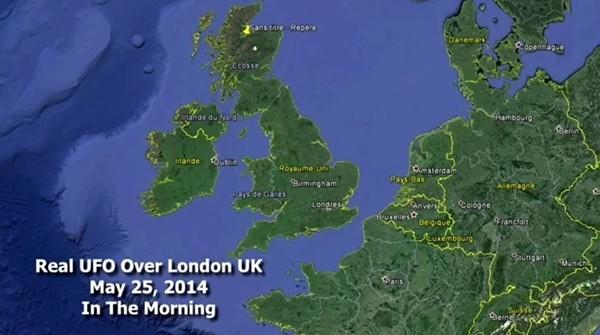 Vật thể nghi đĩa bay của người ngoài hành tinh xuất hiện ở London 8