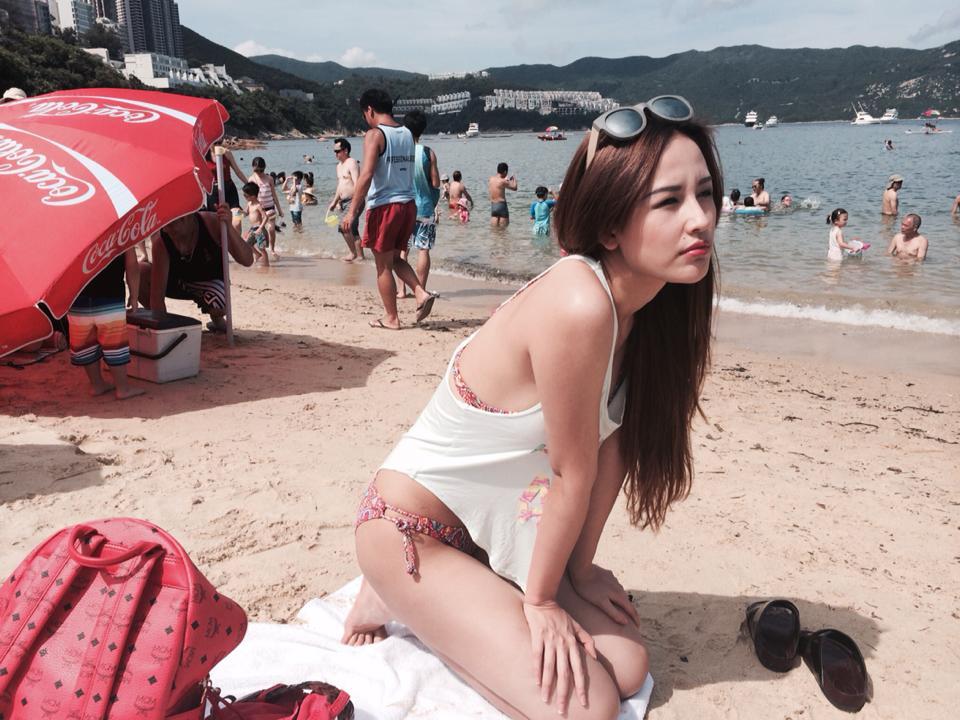 Mai Phương Thúy đẹp mê hồn trên bãi biển Hồng Kông 8
