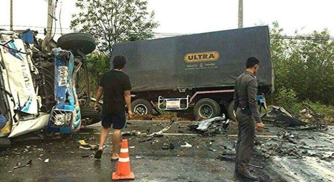 Người Việt gặp tai nạn thảm khốc ở Thái Lan: Nạn nhân vẫn đang nguy kịch 5