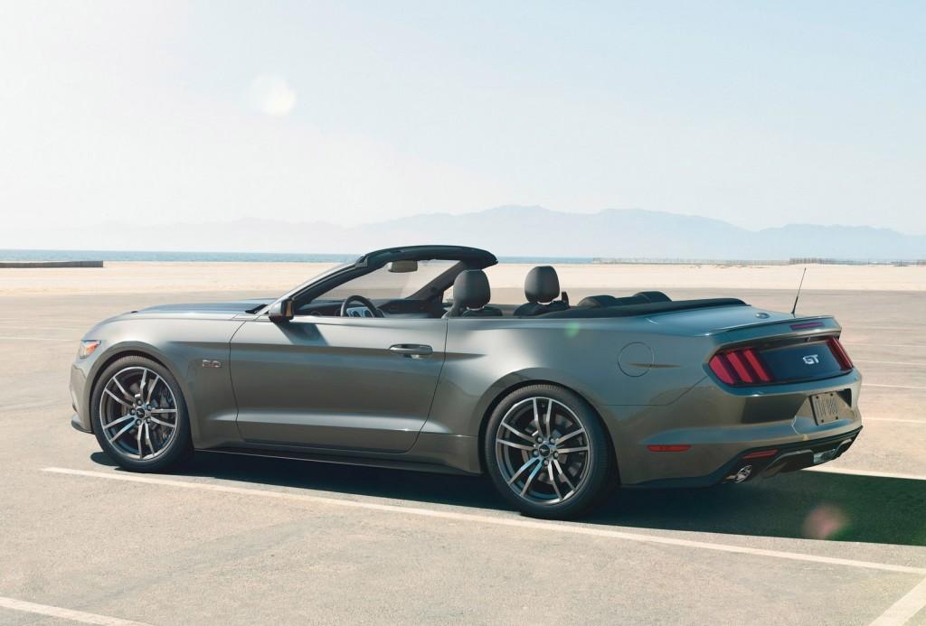Ford Mustang 2015 tăng cân lên khá nhiều 6