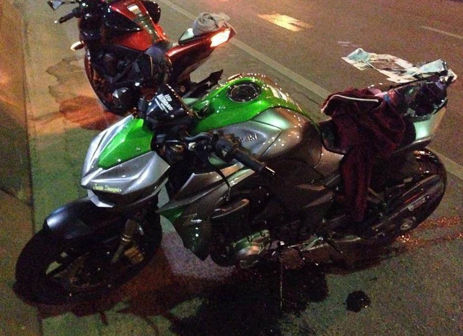 Kawasaki Z1000 2014 đầu tiên tử nạn tại Việt Nam 5
