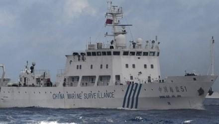 Tàu Trung Quốc xuất hiện trong vùng biển Senkaku/ Điếu Ngư