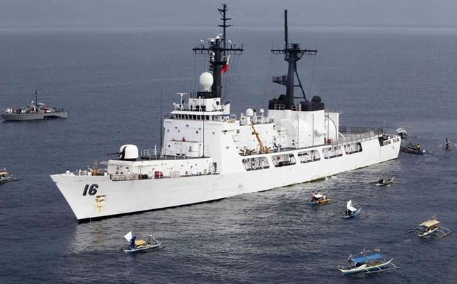 Biển Đông căng thẳng: Hàn Quốc tặng tàu chiến cho Philippines  4