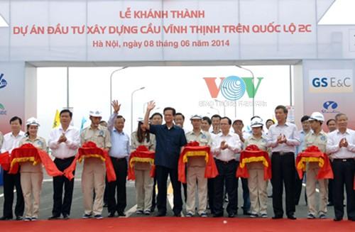 Thông xe cầu vượt sông dài nhất Việt Nam 4