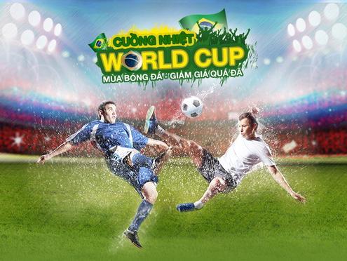 Hình ảnh Hào hứng World Cup, niềm vui nhân đôi tại Lazada.vn số 1