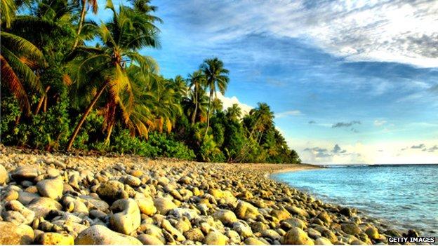 Đã có khoảng 26 bộ hài cốt trôi dạt vào bờ biển Marshall do nước biển dâng cao