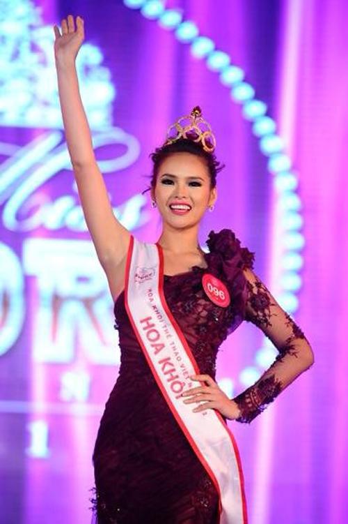 Từ hoa khôi bóng chuyền trở thành người đẹp Miss World 7