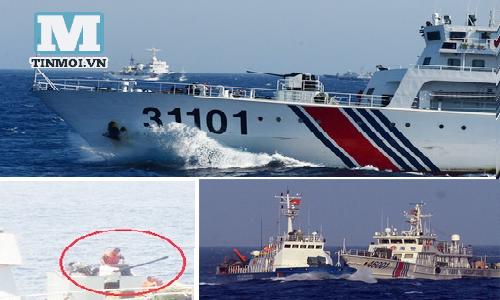 Cập nhật tình hình biển Đông ngày 10/6: Tàu Trung Quốc lại đâm tàu cá Việt Nam 5