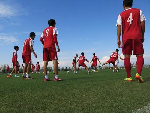 U19 Việt Nam đấu tuyển sinh viên Nhật Bản 6