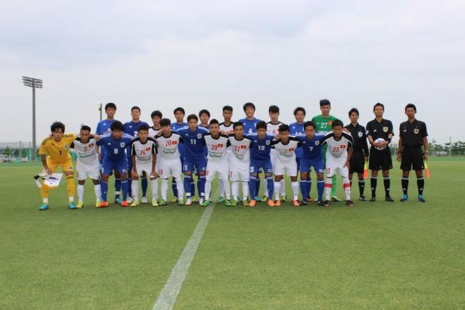 U19 Việt Nam thua đậm tuyển sinh viên Nhật Bản 6