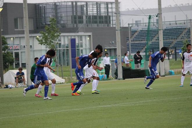 U19 Việt Nam thua đậm tuyển sinh viên Nhật Bản 7
