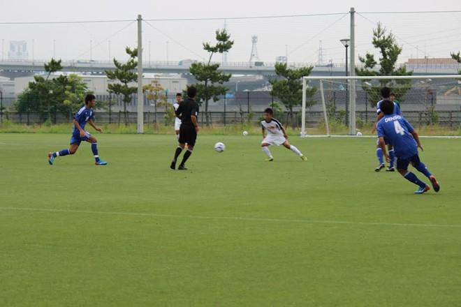 U19 Việt Nam thua đậm tuyển sinh viên Nhật Bản 8