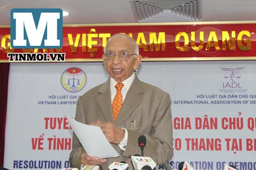 Lần đầu tiên một tổ chức quốc tế yêu cầu TQ làm rõ hành động ở biển Đông 6