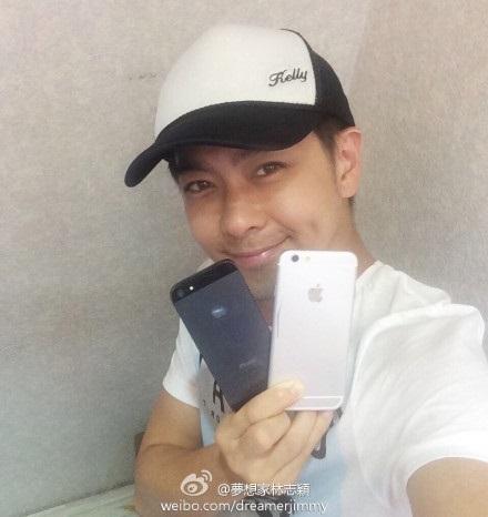 Lâm Chí Dĩnh bất ngờ khoe ảnh cầm iPhone 6 trên tay 6