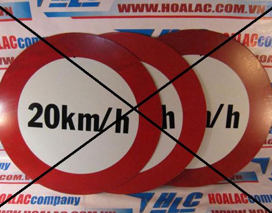 Các biển báo giao thông dưới 40km/h sẽ được khai tử 5