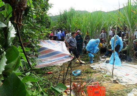 Nghi án một phụ nữ bị hiếp, giết trong ruộng mía 5