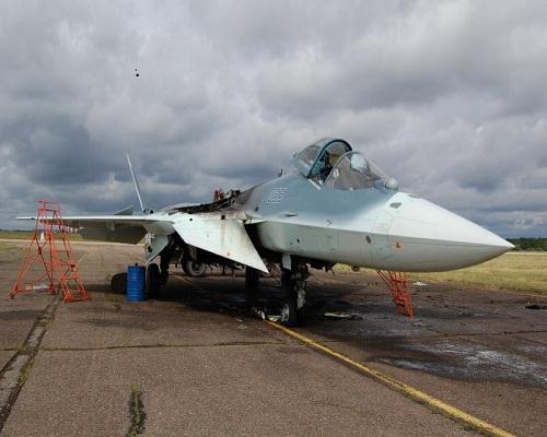 Nguyên nhân sơ bộ vụ cháy siêu chiến đấu cơ thế hệ 5 của Nga 6