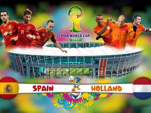 Lịch thi đấu World Cup 2014 đêm 13 - sáng 14/6: Siêu đại chiến Tây Ban Nha - Hà Lan 6