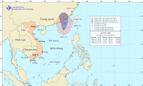 Bão số 1 gây gió giật cấp 10 trên biển Đông 4