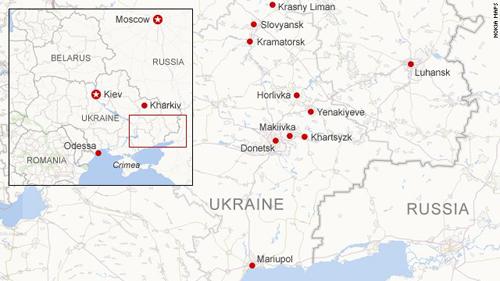 Máy bay quân sự Ukraine chở 49 người bị bắn rơi 5