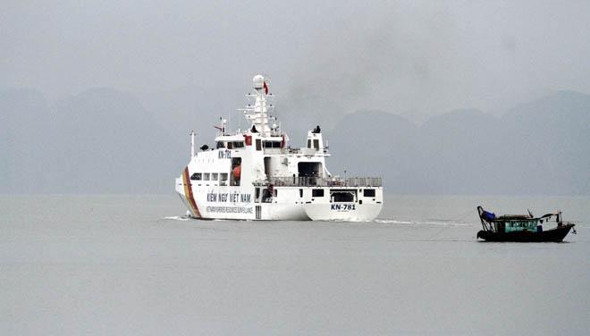 Uy lực vòi rồng của tàu kiểm ngư KN-781 hiện đại nhất Việt Nam 5