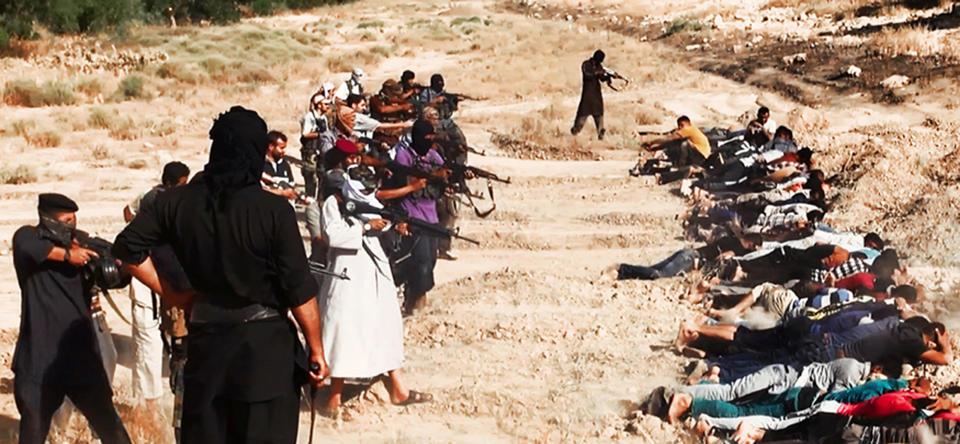 Phiến quân Iraq đăng ảnh giết người hàng loạt 6
