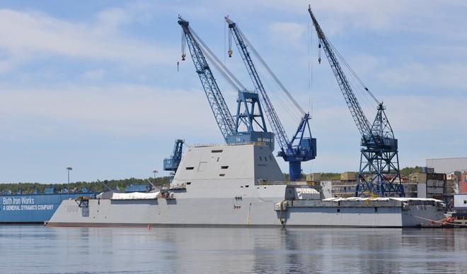 Cận cảnh chiến hạm tàng hình 3,5 tỷ USD của Hải quân Mỹ 7