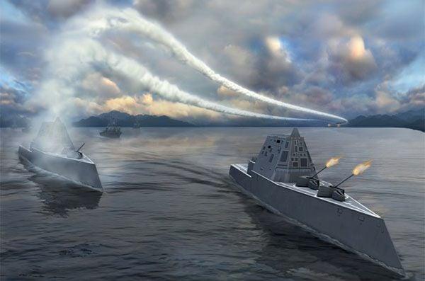 Cận cảnh chiến hạm tàng hình 3,5 tỷ USD của Hải quân Mỹ 13
