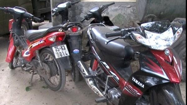 Nhóm thiếu niên gây ra hàng loạt các vụ trộm xe máy bị tóm gọn 6