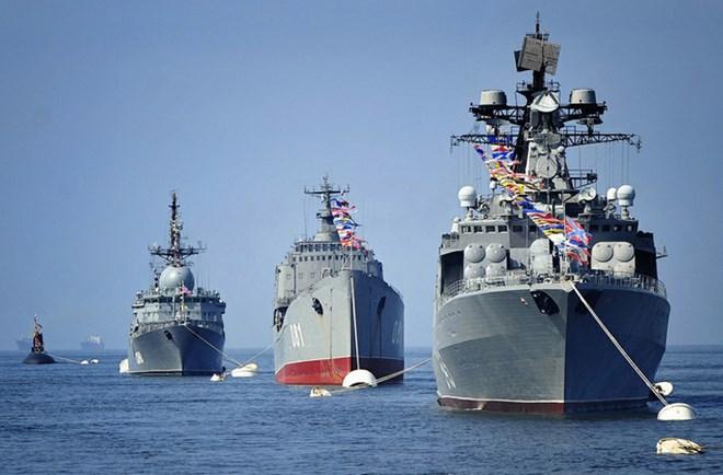 Hạm đội Thái Bình Dương của Hải quân Nga đến Việt Nam 4