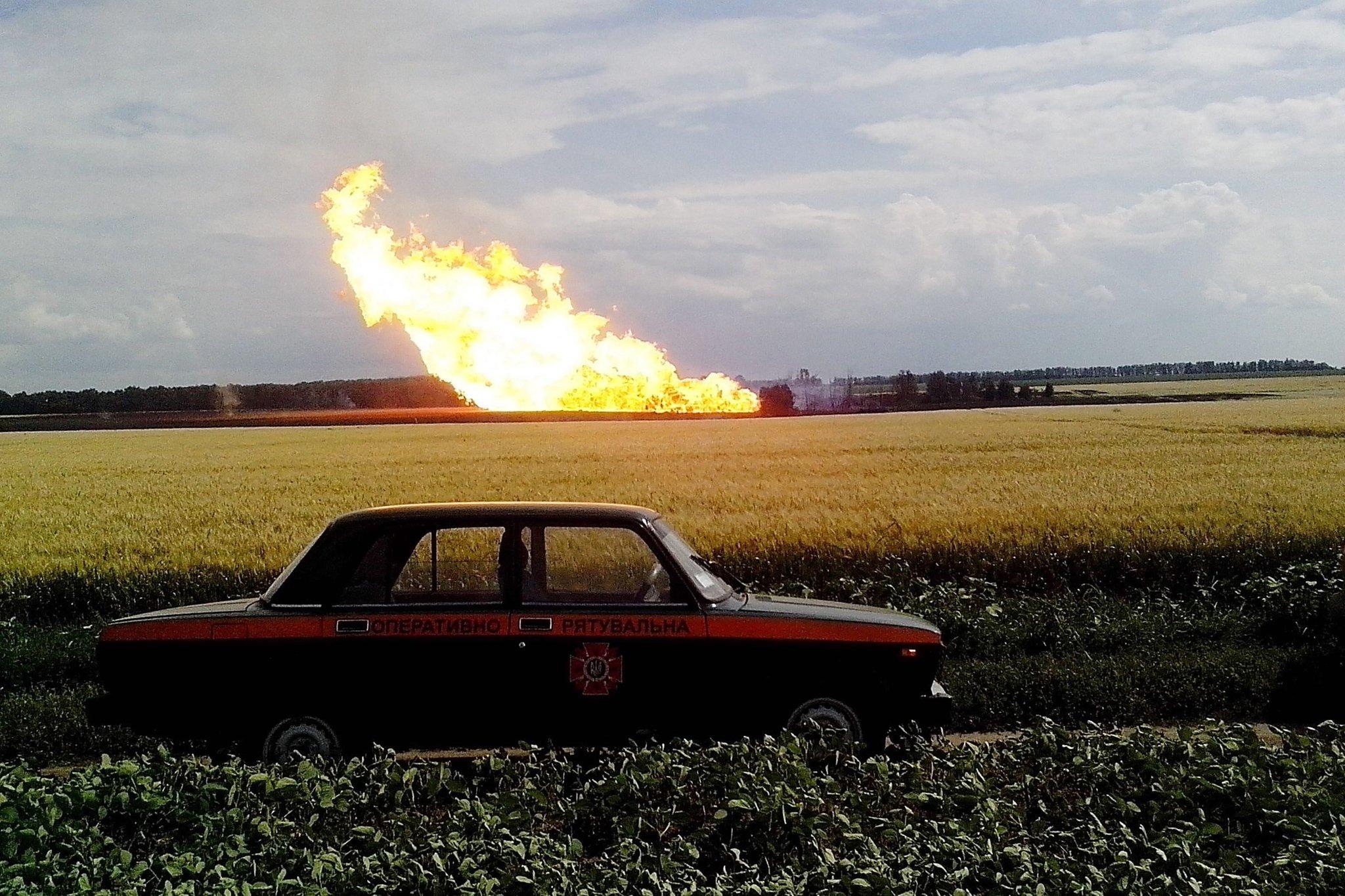 Đường ống khí đốt chạy qua Ukraine nổ tung sau khi Nga cắt hợp đồng 5