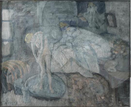 Người đàn ông bí ẩn trong bức tranh phụ nữ đang tắm của Picasso 9