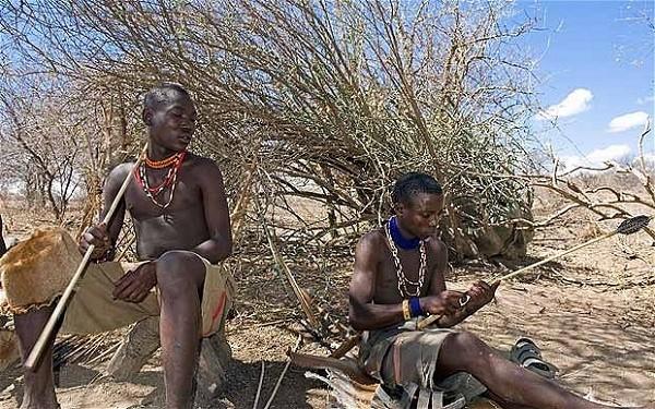 Cận cảnh cuộc sống của bộ tộc ở trần, ăn thịt người, sống trên ngọn cây 6
