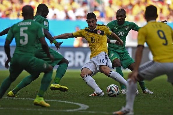 Colombia 2-1 Bờ Biển Ngà: Cafeteros thắng kịch tính 6