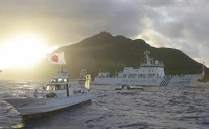 Tàu Trung Quốc xâm phạm lãnh hải Nhật Bản 5