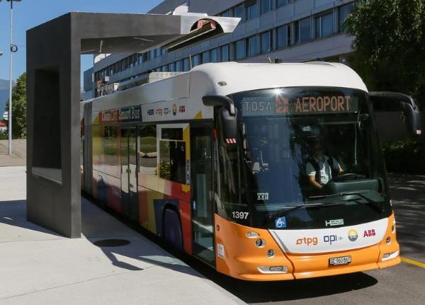 Kinh ngạc với xe bus chạy điện chỉ cần sạc 15 giây 6