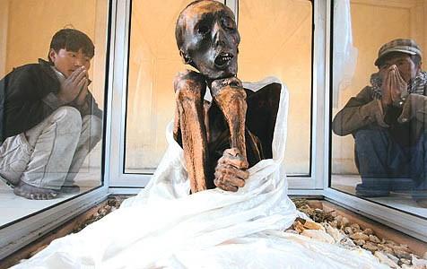 Bí ẩn xác chết Tây Tạng 600 năm không phân hủy - ảnh 2