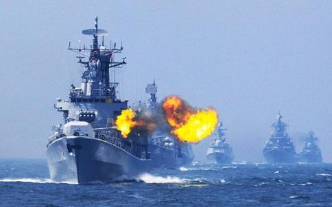 Hàng không huỷ bay vì Trung Quốc tập trận trên Biển Đông 4