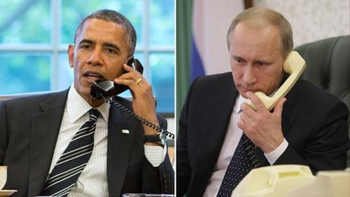 Tổng thống Mỹ Obama 'đe doạ' Tổng thống Nga qua điện thoại 3